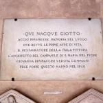 Giotto - epigrafe
